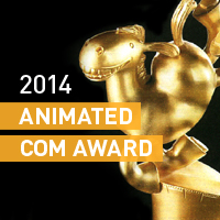 DIGIC won the Animated Com Award's Technology Prize for the third time!